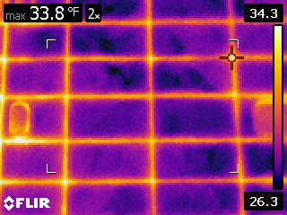 cladding thermal image