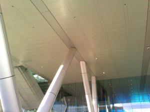 column thermal bridging