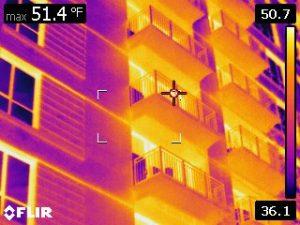 balcony thermal image