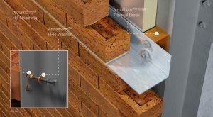 masonry shelf angle thermal break