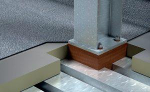 roof penertration thermal breaks