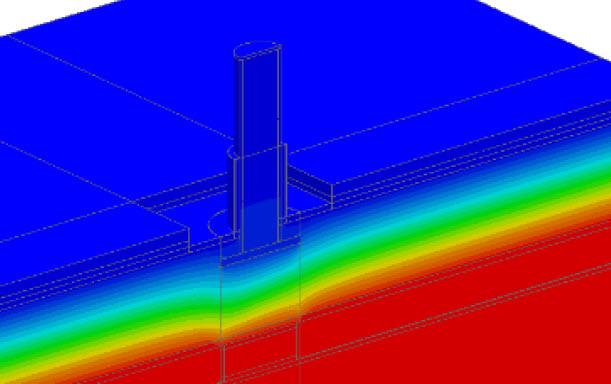 roof screen thermal bridging
