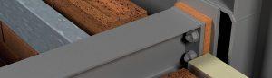 steel balcony insulation