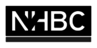 NHBC Logo Black and White