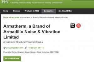 RIBA Product Selector